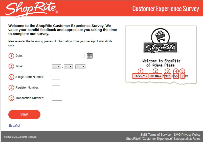 ShopRite Customer Experience Survey