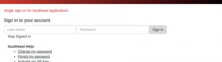 semo portal login