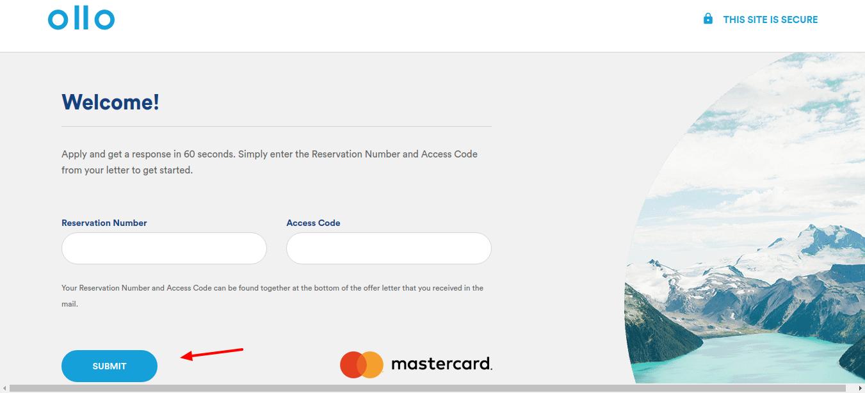 Ollo Card Application
