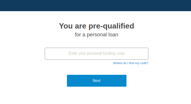 LendingClub Loan Apply