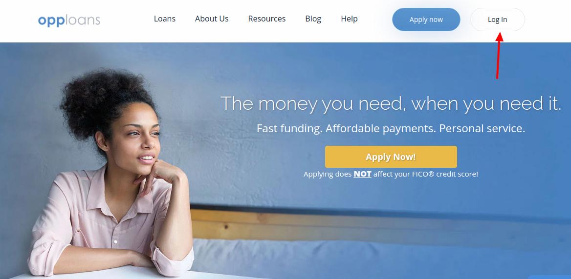OppLoans personal loan Login
