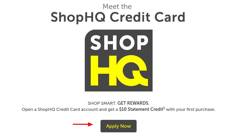 SHOPHQ Credit Card Apply