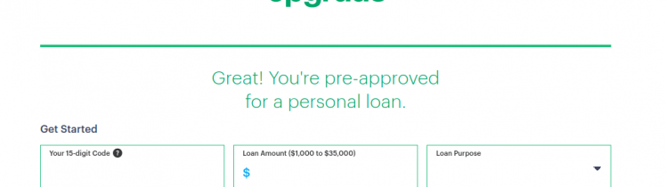 Upgrade Personal Loans Logo